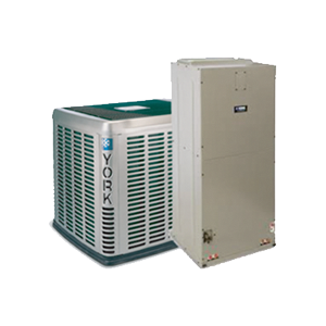 York Central Heat Pump System by Atlantic Heating and Cooling